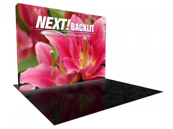 NEXT Backlit Trade Show Display