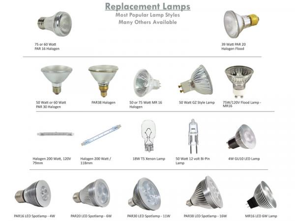 Replacement Bulbs - Most Popular Styles
