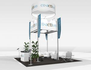 RE-9081 Co-active Trade Show Rental Exhibit -- Image 2