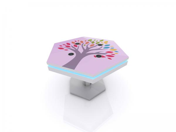 MOD-1464 Trade Show and Event Wireless Charging Coffee Table -- Image 1