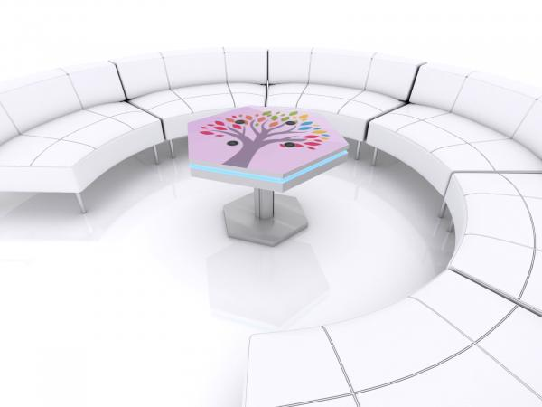 MOD-1464 Trade Show and Event Wireless Charging Coffee Table -- Image 3