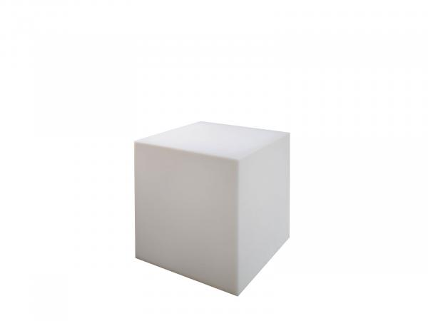 Unlit  | Cube Ottoman -- Trade Show Furniture Rental