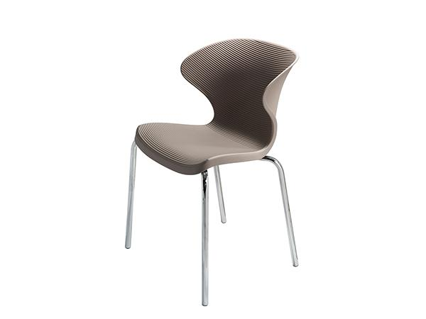 CEGS-016 | Malba Chair (Gray) -- Trade Show Furniture Rental