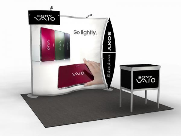 VK-1077 Magellan MOR Portable Trade Show Display
