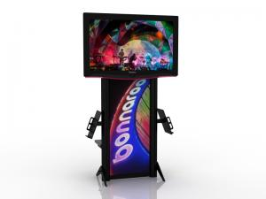 MOD-1406 Monitor Stand for Trade Shows or Events -- Image 1