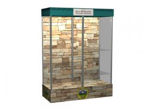 MOD-1153 Trade Show Display Showcase