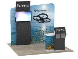 ECO-1120 Sustainable Trade Show Display -- Image 1