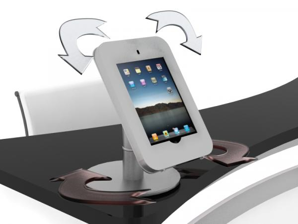 See the MOD-1371 for the iPad Rotating Counter Mount Version
