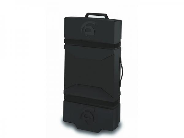 Optional LT-550 Portable Roto-molded Case with Wheels and Jigging