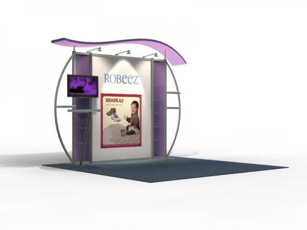 VK-1311 Trade Show Exhibit with Silicone Edge Graphics (SEG) -- Image 2