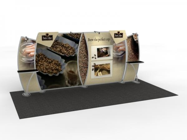 VK-2905 Trade Show Display -- 10 x 20