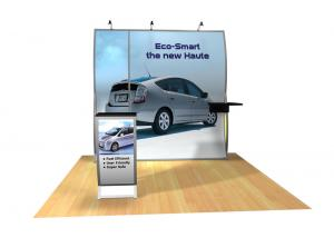 Perfect 10 VK-1502 Portable Hybrid Trade Show Display -- Image 3