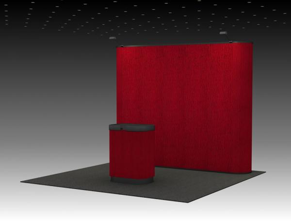QD-139 Trade Show Pop Up Display