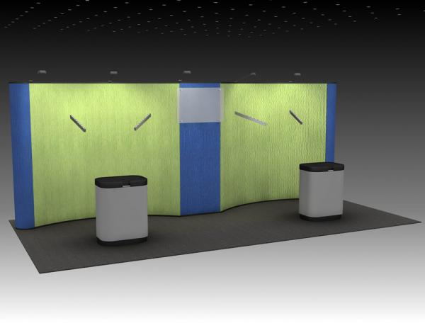 QD-215 Tradeshow Pop Up Display