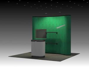 QD-109 Trade Show Popup Exhibit