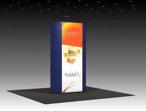 QD-138 Trade Show Pop Up Display