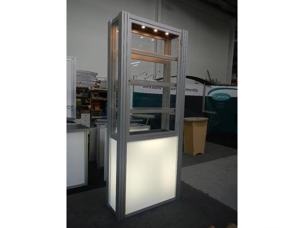 RE-500 Rental Display / Single Display Case -- Image 2